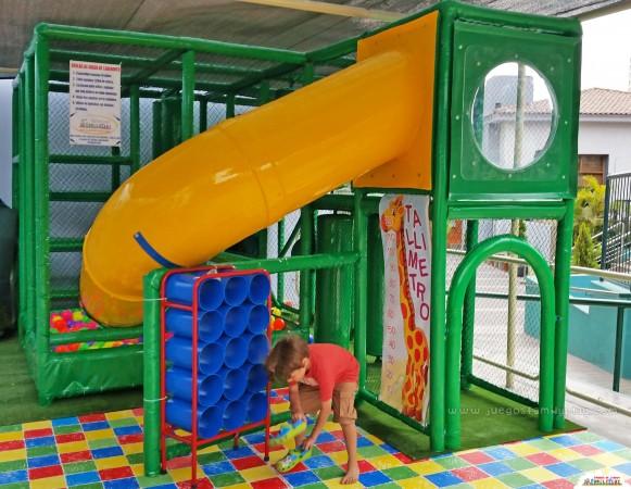playground laberinto juegos polleria terrazas