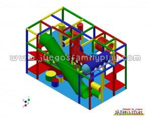Playground laberinto Juegos para Polleria Proyecto II