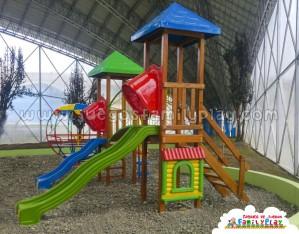 juegos para parques de madera