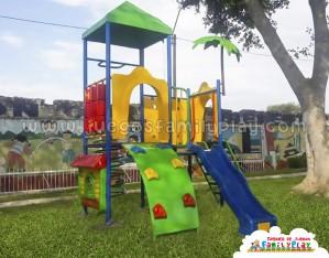 Juegos para parques - Metal de 2 Torres