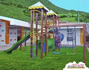 Juego para parques infantil modelo huancayo I