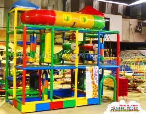 Playground Laberinto Juegos para Pollerias Huallanca