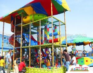 Playground Laberinto Juegos para Pollerias tematico selva