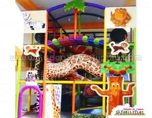 Playground laberinto juegos para Polleria Modelo Zafari