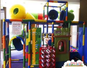 Playground Laberinto Juegos para Pollerias Paredes
