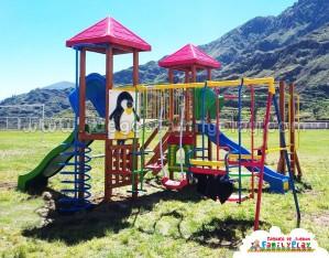 Juegos para parques modelo San Pedro