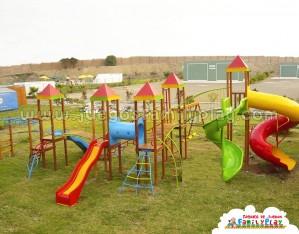 juegos para parques modelo Club Cafae