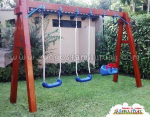 juegos infantiles para parques -columpio madera