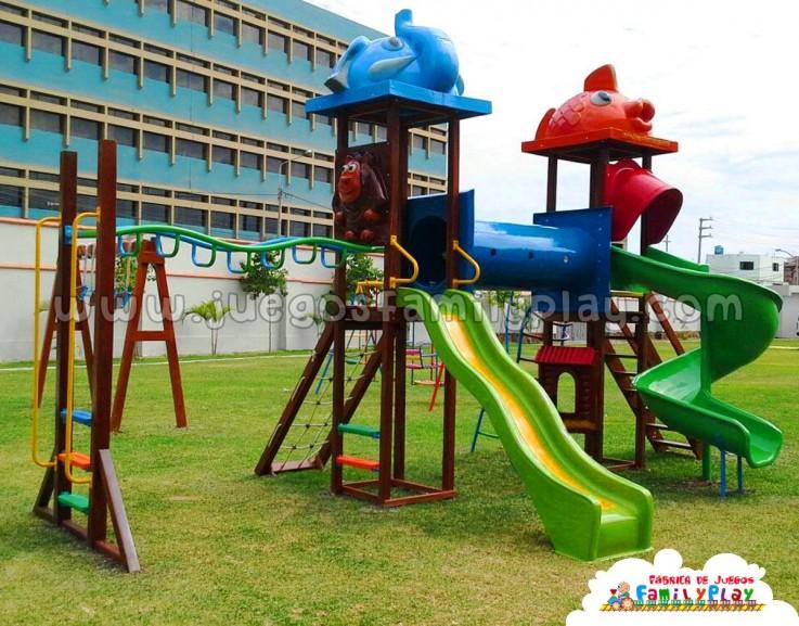 juegos para parques infantiles modelo chiclayo