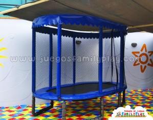Cama Elastica Ovalada  De 3mts x 2mts Modelo Terrazas