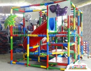 Playground laberinto, juegos para Polleria - Modelo Caracol