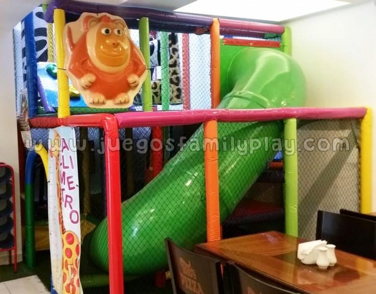 playground laberinto juegos para polleria modelo mono