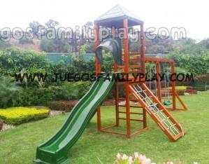 juegos de madera para parques infantiles - Jardines