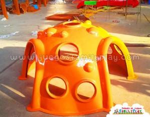 juegos infantiles para parques - cueva de fibra