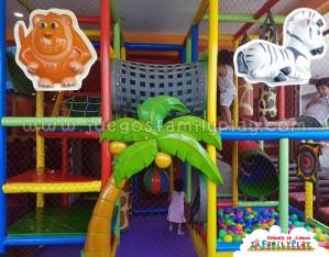 Playground juegos para pollerias Zoológico