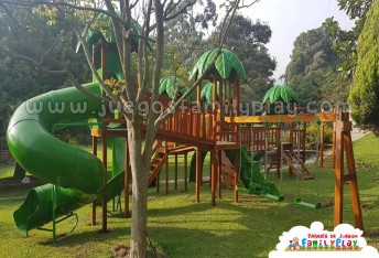 Juegos para parques de 5 torres Modelo Sierra Morena