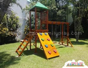 Juegos para parques de 1 torre Modelo Casuarinas