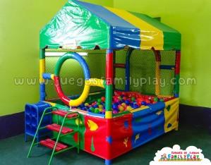 juegos para pollerias - piscina de pelotas