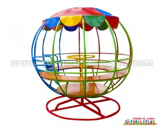 juegos giratorios para niños mundo
