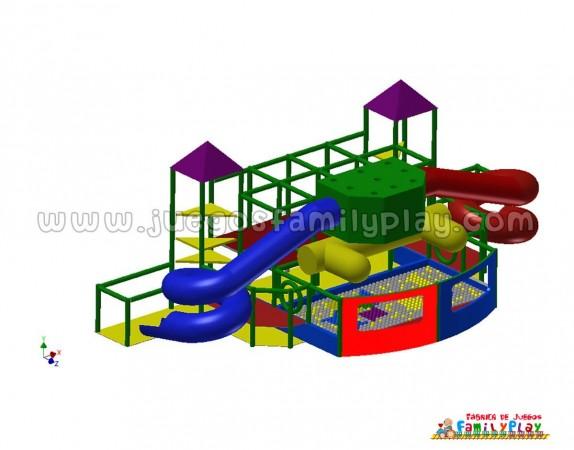 playground laberinto juegos para polleria proyecto III