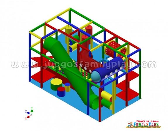 playground laberinto,juegos para polleria,proyecto II